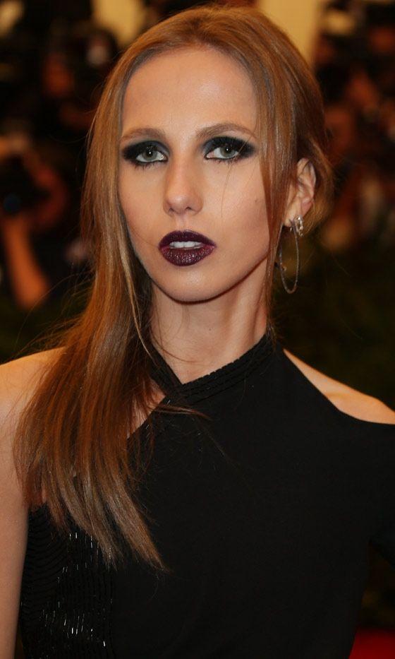 Allegra Versace At The Met Gala, 2013