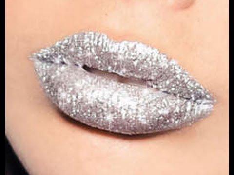 Silver Sparkles #makeup, #lips, #pinsland, https://apps.facebook.com/yangutu