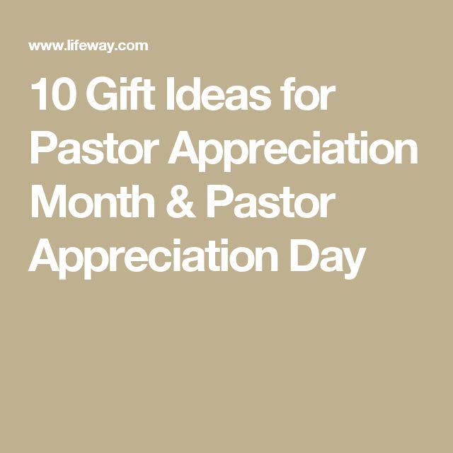 10 Gift Ideas for Pastor Appreciation Month & Pastor Appreciation Day