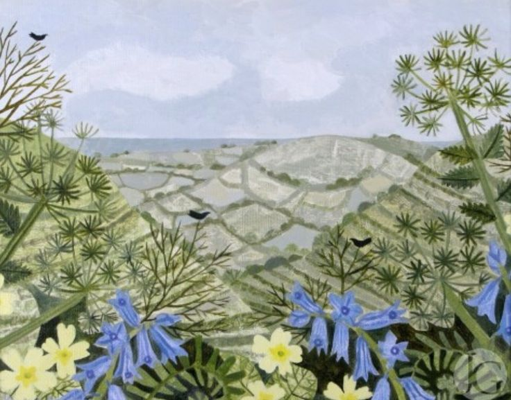Still life and landscape by Vanessa Bowman.