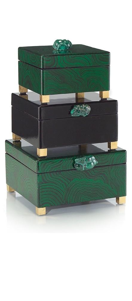 wedding gift ideas luxury designer malachite gold dressing table boxes so beautiful one