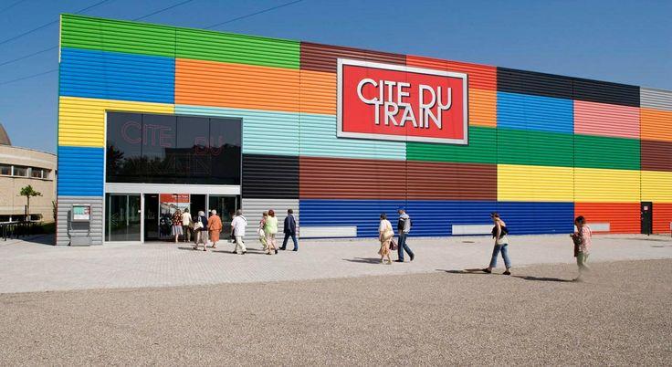 Cité du train Frankrijk Mulhouse