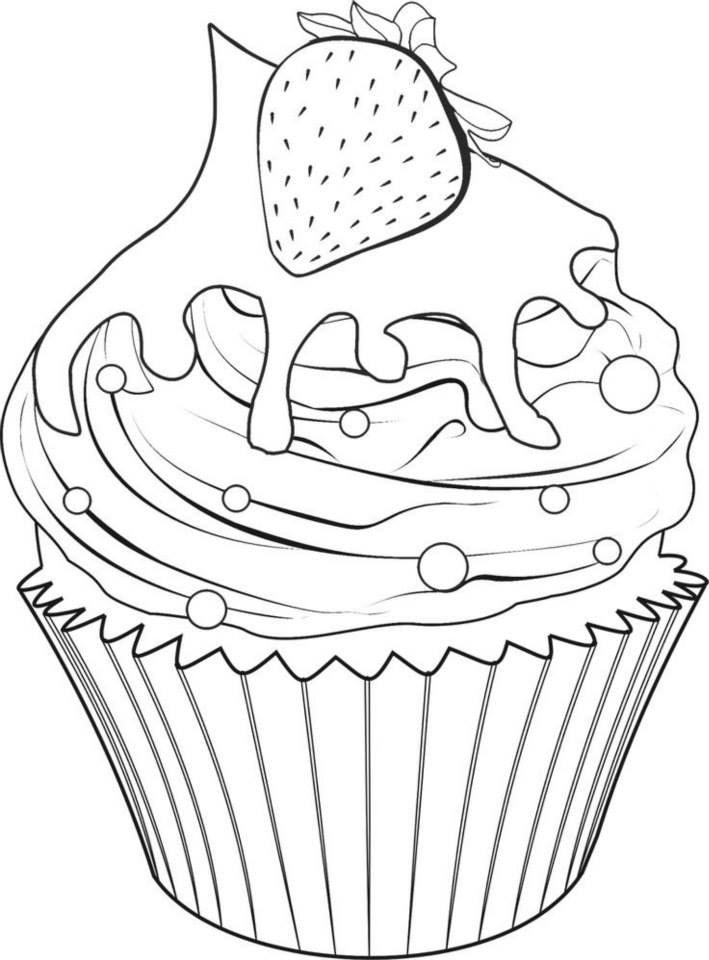 45 best cupcakes bordado images on Pinterest | Dibujos kawaii ...