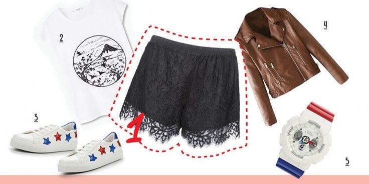 С чем носить пижамные шорты | ElleGirl