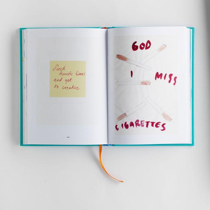 GOD I MISS CIGARETTES   DO A BAD JOB AND MAKE IT WORSE   2016 #designbook #artbook #creativeprocess #smokingfetish