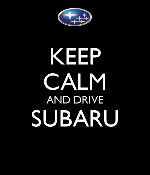 KEEP CALM AND DRIVE SUBARU - KEEP CALM AND CARRY ON Image Generator