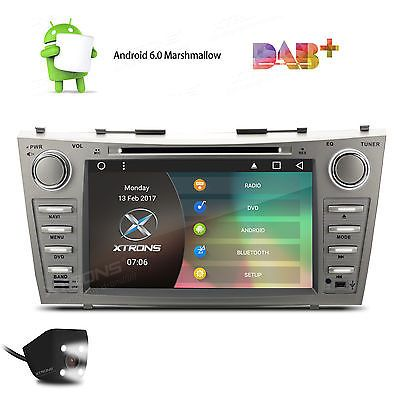 """8"""" Toyota Camry 2007-2011 GPS Navigation Android 6.0 Car Radio Stereo DVD Player"""