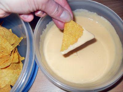 Sanna´s Hexenküche: Käsecreme hot - toller Dip für Tortilla Chips