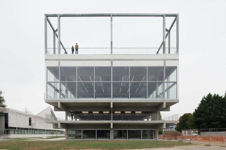 Lieu de vie Paris-saclay Muoto architectes