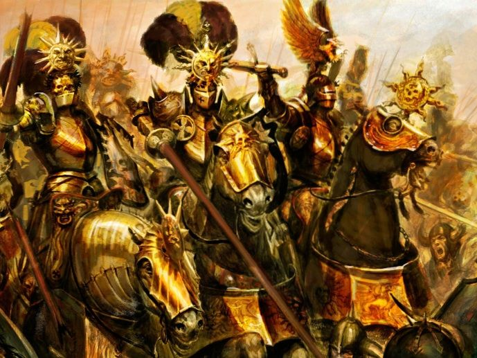 Knights of the Blazin Sun - Warhammer Fantasy