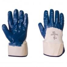 Nitrile Heavyweight Blue Palm Dip Gloves