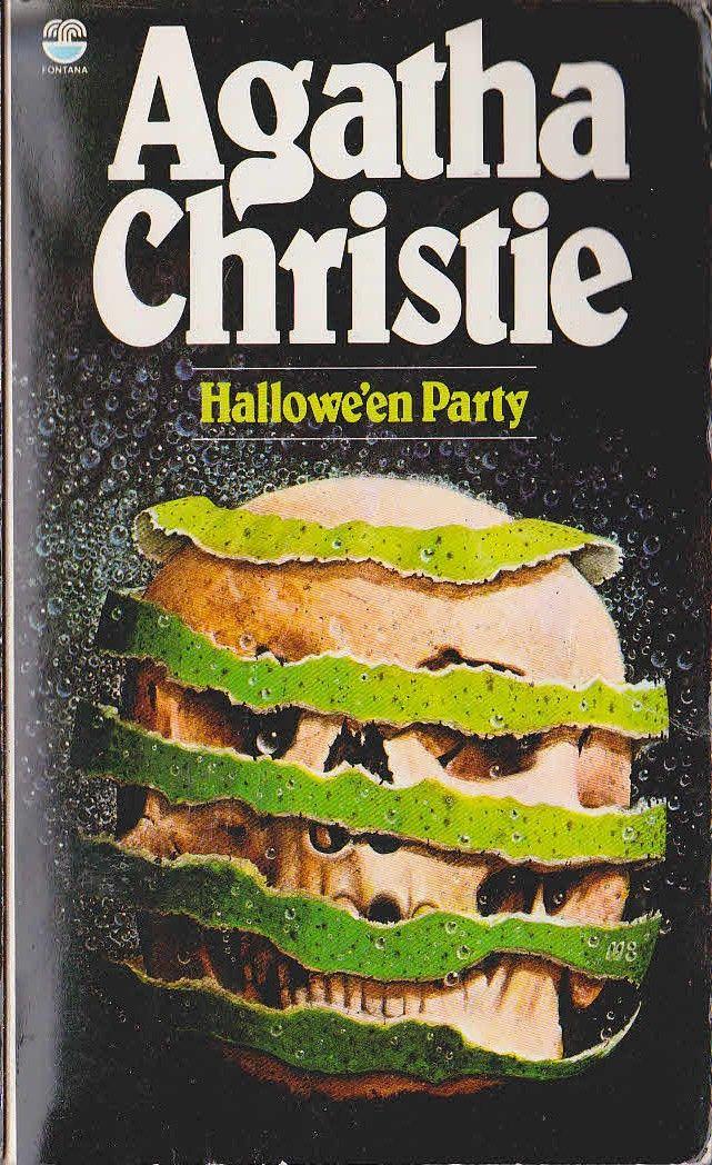 Agatha Christie HALLOWE'EN PARTY Fontana rpt.1984 front cover image