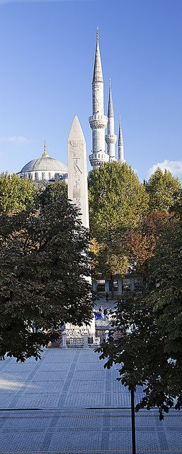 Sultanahmed Cami Minareleri, Istanbul, Turkey