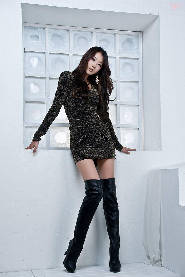 Thigh High Boots by ParkLeggyKorean on deviantART