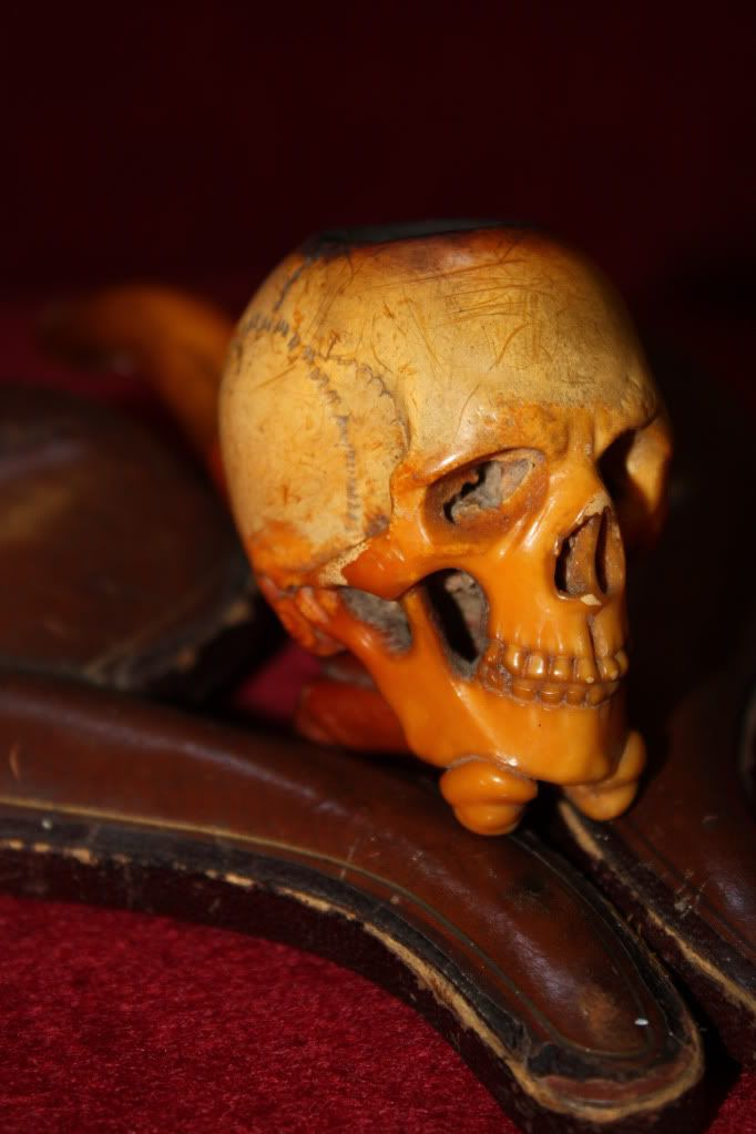 Antique Meerschaum pipe