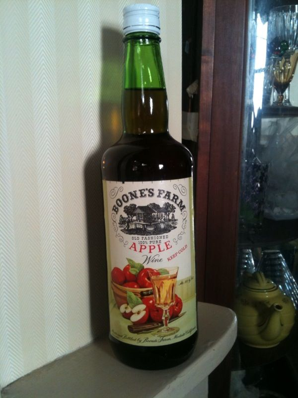 when the legal drinking age was 18, it was Boone's Farm Apple Wine  and Screwdrivers back then!