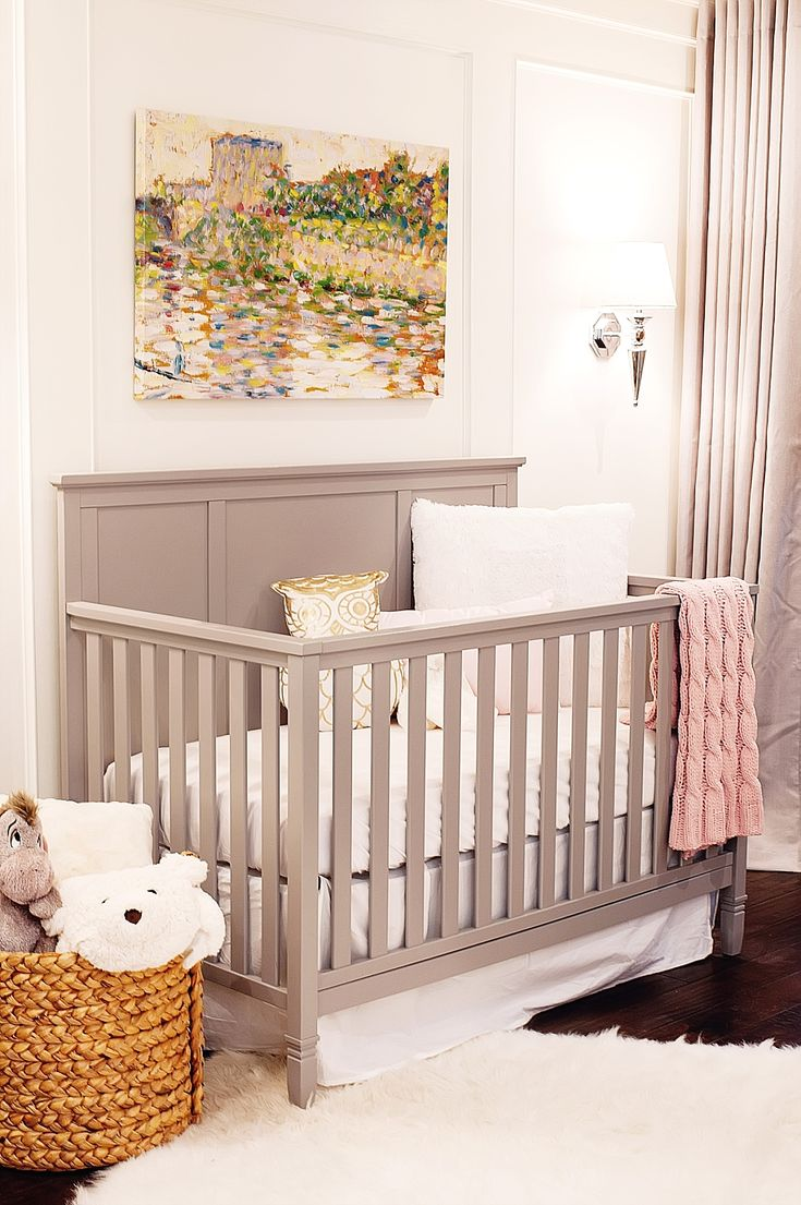 334 best Gray and Pink Nursery images on Pinterest | Babies ...