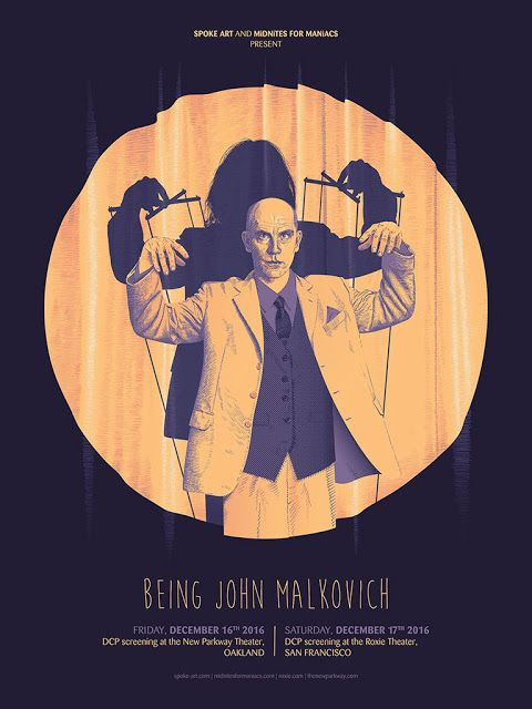 'Being John Malkovich' by Guillaume Morellec