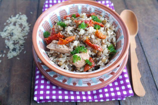 Просто и вкусно: Чечевица с рисом