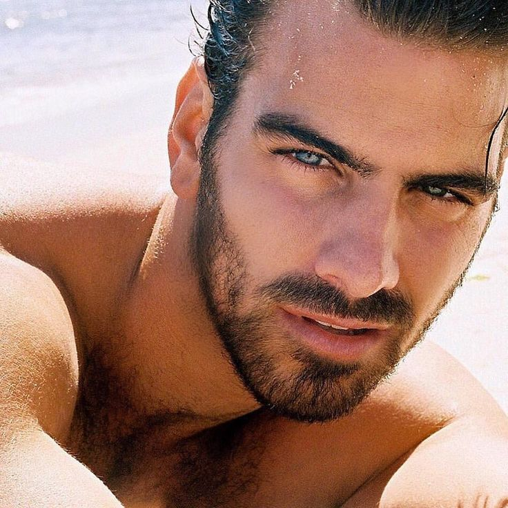Nyle Dimarco. Dark Hair, Blue Eyes, and Gorgeous!