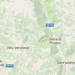 Visita in Lessinia realizzata con google Maps