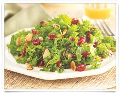 Kale Cranberry Pepita Salad from #heb - OMG this is so good!