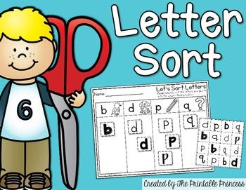 The 25 best letters with q ideas on pinterest q learning trace made to help kids distinguish between the lowercase letters b d p q this is a cut and paste worksheet where students will cut sort fandeluxe Choice Image