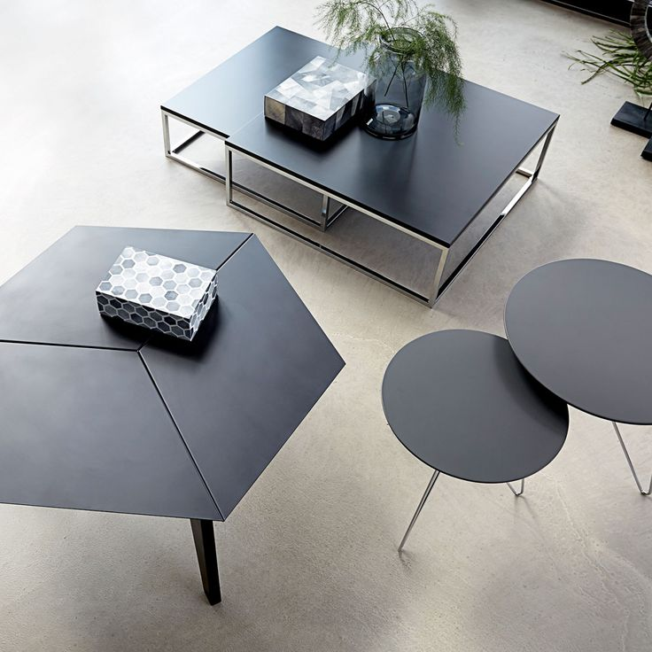 2-Pc. Square Coffee Table Set | Canett Furniture | MONOQI