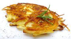 Potato Pancake Recipe: learn how to make easy potato rösti!