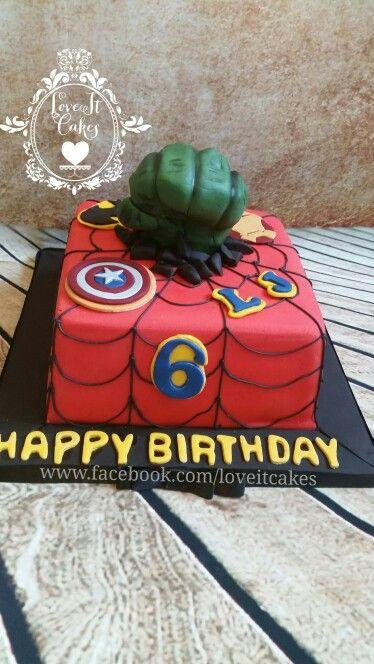 22 best Avengers Birthday images on Pinterest Avenger cake