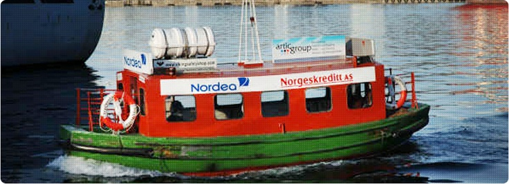 "Hop on the boat ""Beffen"" from Bryggen. The boat takes you to Bergen Aquarium in 4 minutes and departs every 10 minutes Monday - Friday at 07:30 - 16:00. It also departs on Saturdays 11:00 - 16:00 in May - August. Price: 20 NOK for adults, 10 NOK children."