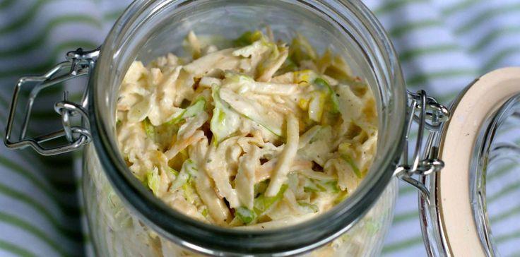 Coleslaw med kål og rotgrønnsaker