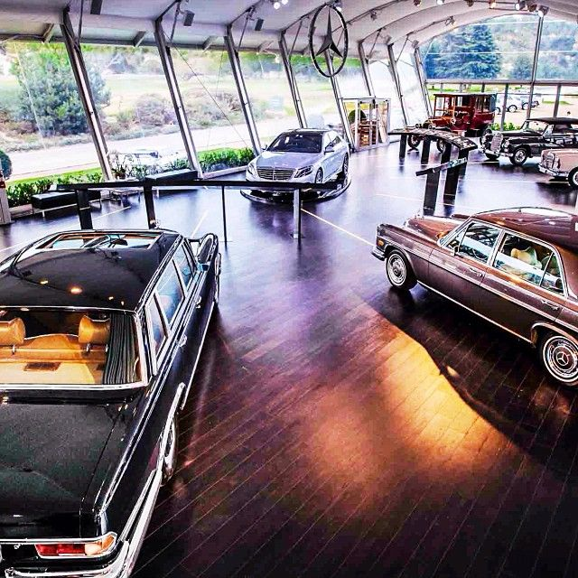 Nice classic showroom #mercedes #MercedesBenzofHuntValley