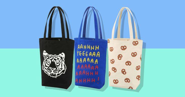 On Sale: Jason Polan for Uniqlo Tote Bags