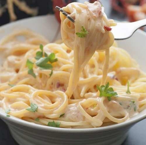 Cibo: Ecco la pasta ai gamberetti e panna con la ricetta appagante