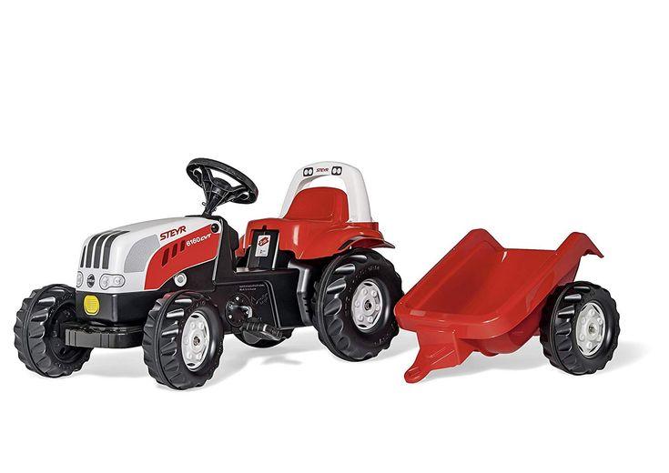 Der Spielzeugtester hat das Schneider 01 251 0 – rollyKid Steyr Traktor mit Ü… – Spielzeugtester