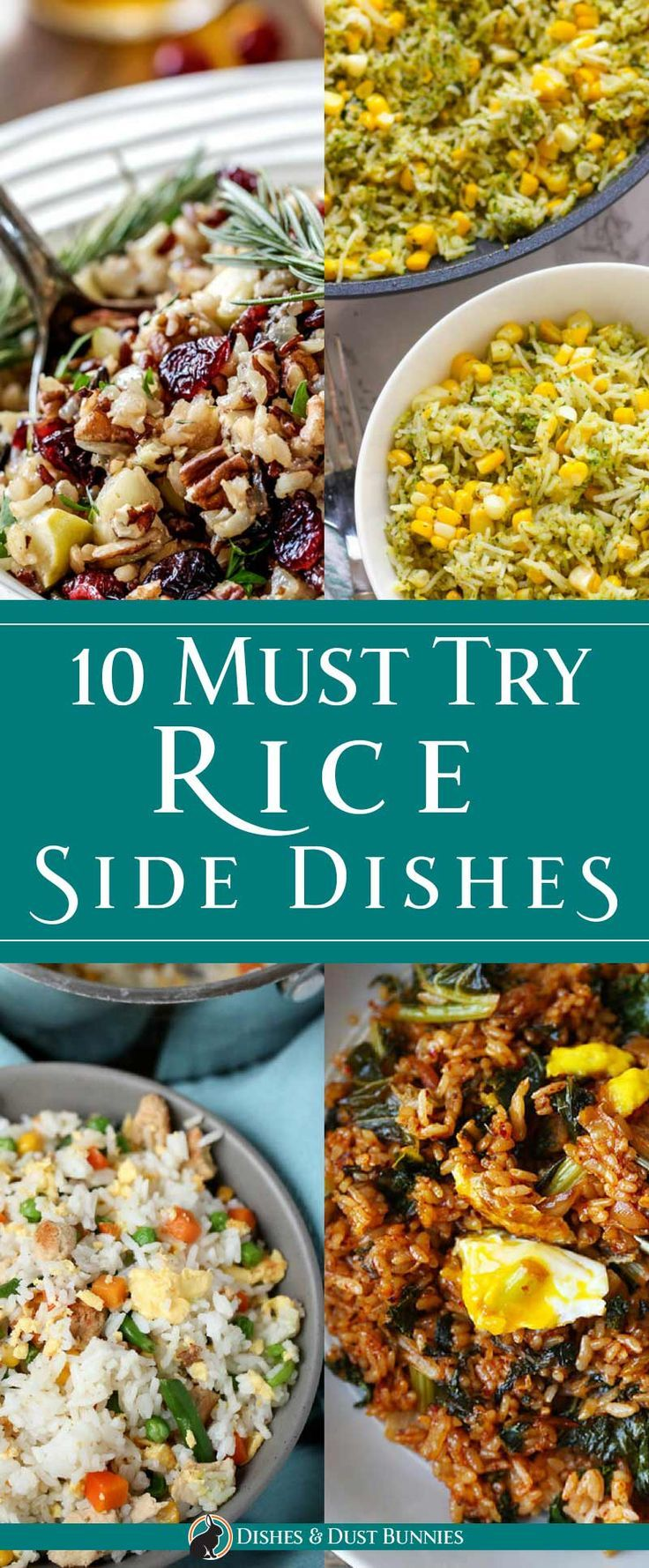 11 Must Try Rice Side Dishes via @mvdustbunnies