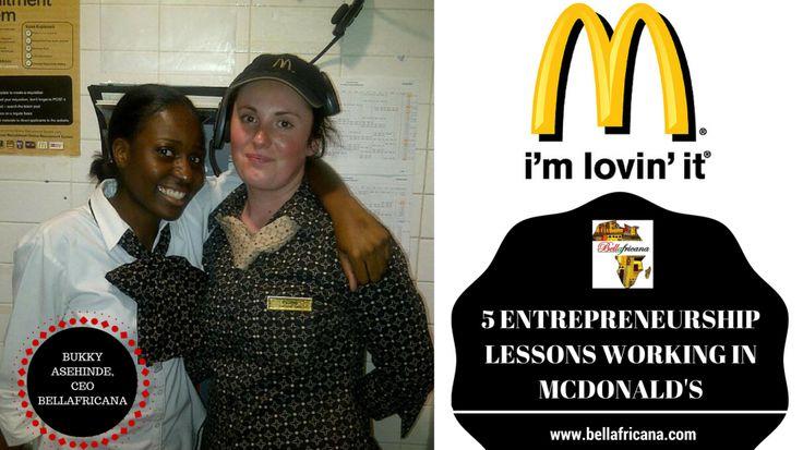5 entrepreneurship lessons i gained working in mcdonalds