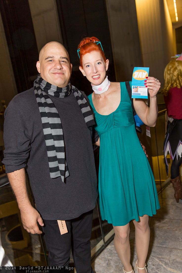 Felonius Gru and Lucy Wilde | Dragon Con 2014 #DTJAAAM