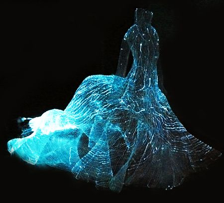•♥• fiber optic dress