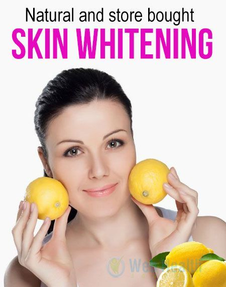 Natural and store bought Skin whitening Tips. Lemon : lemon has been used since ancient times as a skin lightener. Lemon can irritate the skin so it should be used with caution. Preferably it should not be used more than three times a week #skincare #whitenskin #bleachingskin  #beauty #homeremedies #lemons