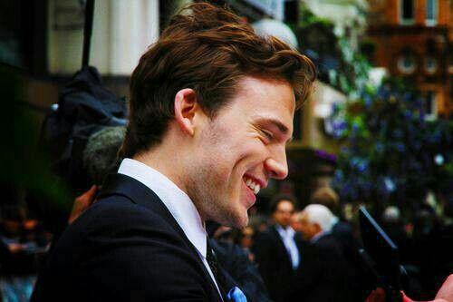 His smile!