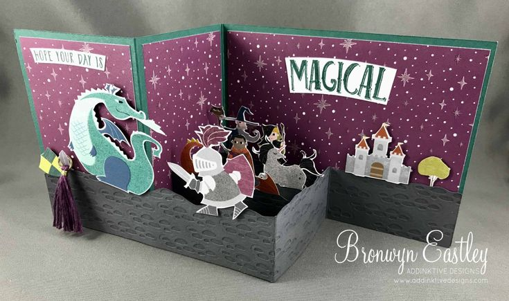 Magical Day Double Z-Fold Box Card