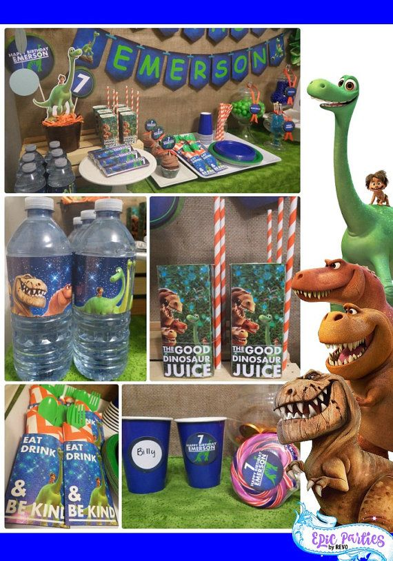 26 best Good dinosaur birthday party images on Pinterest Dinosaurs