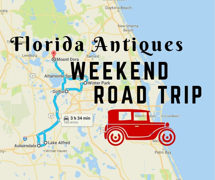 Visit some of Florida's best antique stores and restaurants plus a relaxing B&B, all in one awesome weekend.