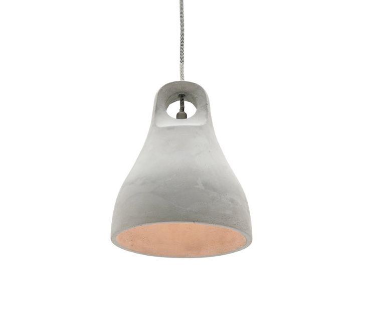 Bennett Small Concrete Pendant Light Bell Shape Mercator MG3631S, $89.00