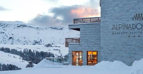 Ecologisch luxe hotel direct aan de piste in de Dolomieten, Italie