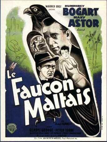 Films policier ... Le Faucon Maltais