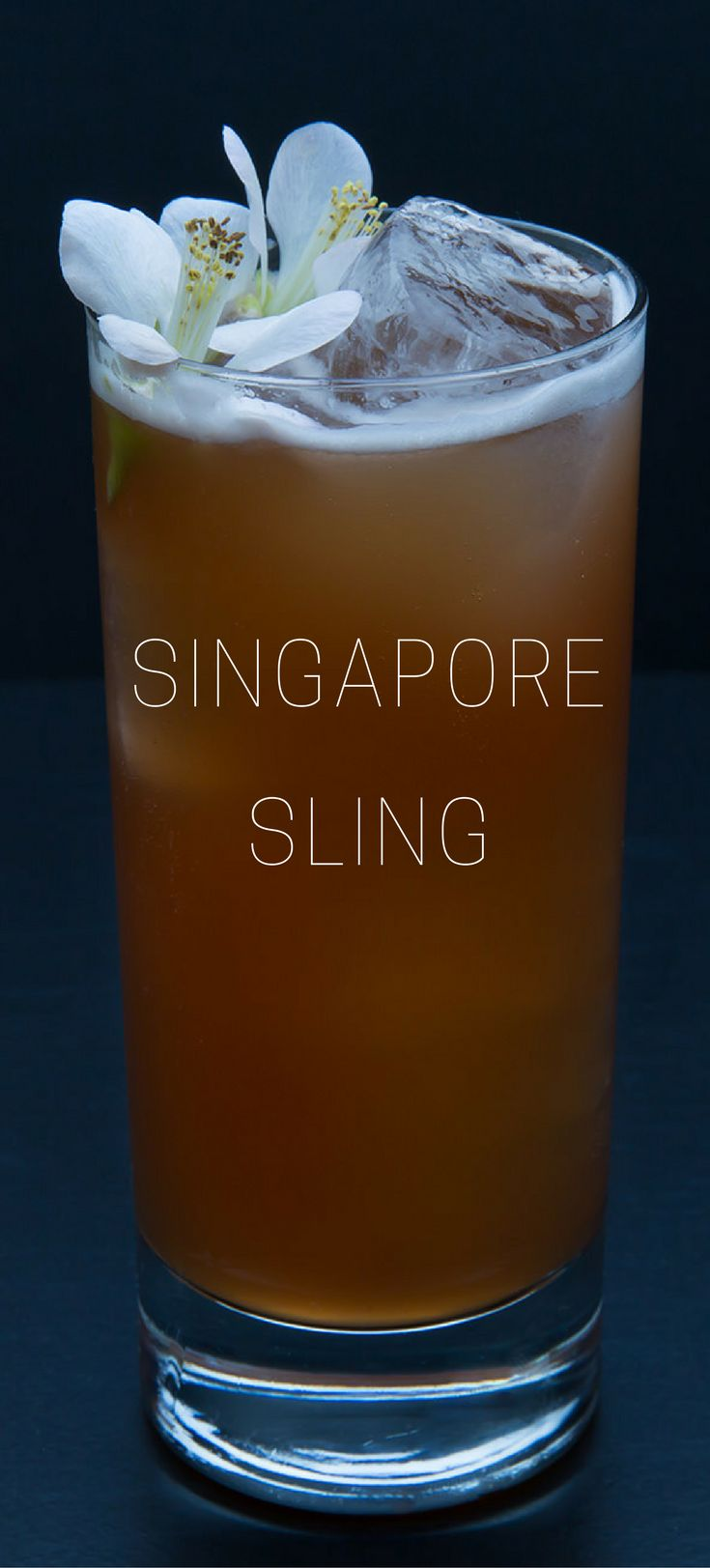 The Singapore Sling was first created in 1915 at the at the Long Bar in the Raffles Hotel in Singapore by Ngiam Tong Boon, a Hainanese bartender. #tiki #cocktail