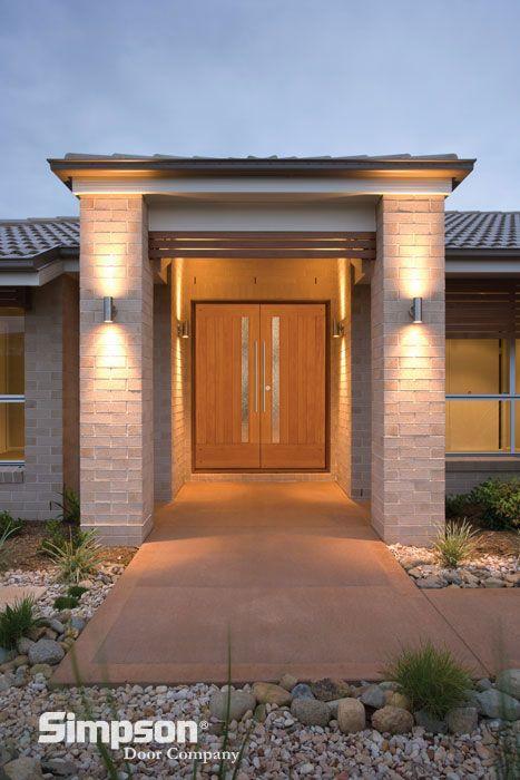A Trendspotting Guide To Interior And Exterior DOORS   Eclectic   Front  Doors   Simpson Door